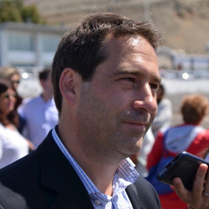 Juan Pablo Luque, intendente de Comodoro Rivadavia